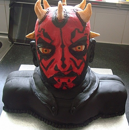Star Wars Darth Maul Cake