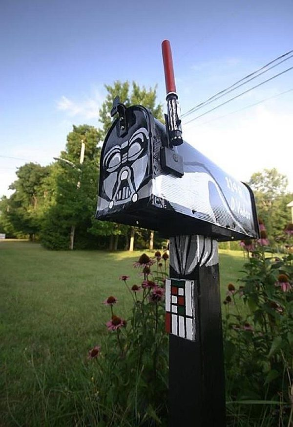 Star Wars Darth Vader Mailbox