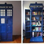 This TARDIS Bookshelf Might Be Bigger on the Inside [pic]