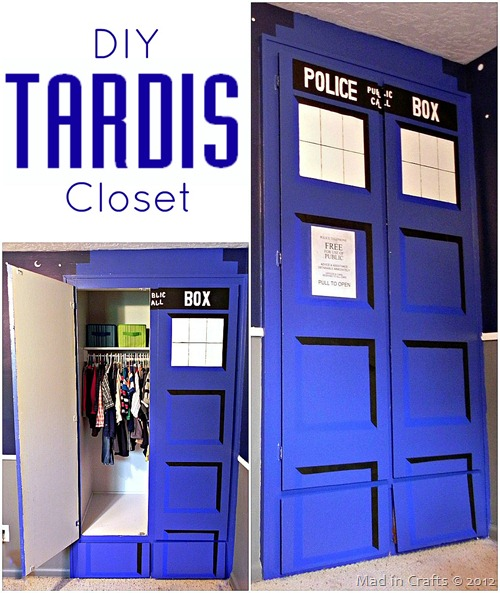 DIY TARDIS Closet