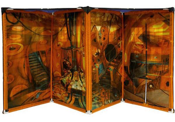 TARDIS Tent Playhouse Inside