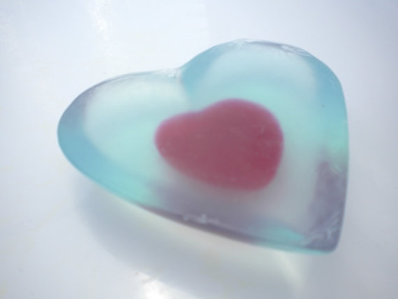Legend of Zelda Heart Piece Soap Bar