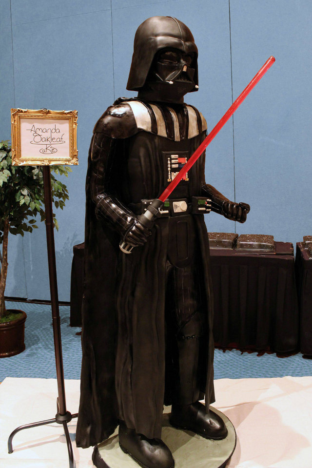 Star Wars Life Size Darth Vader Cake