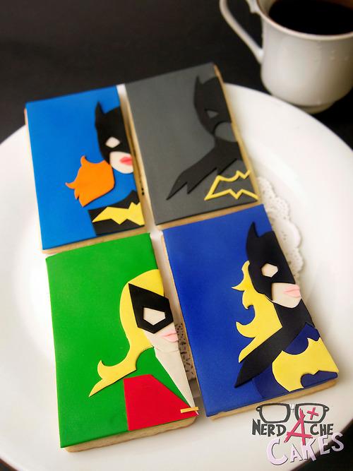 Batgirl Cookies