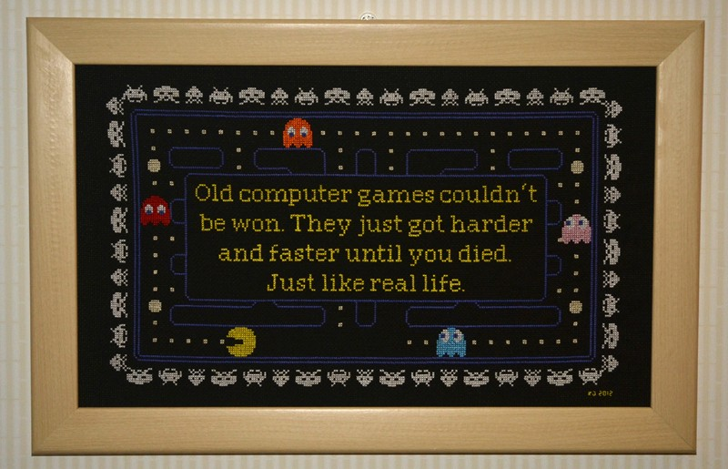 Retro Video Game Cross-Stitch