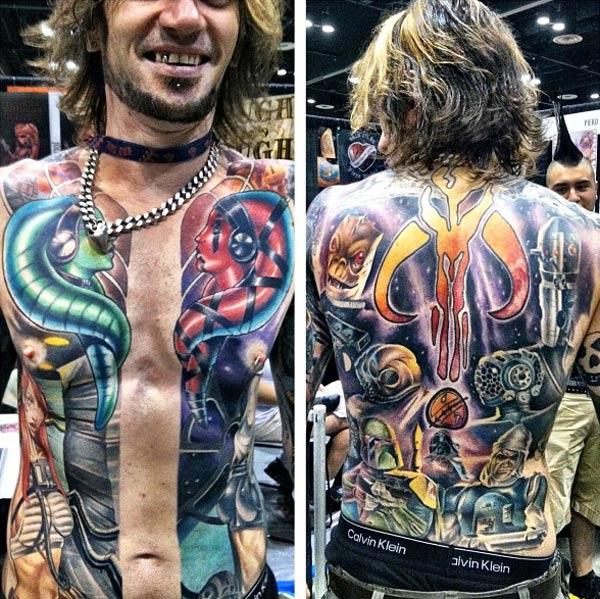 Star Wars Full Body Tattoo