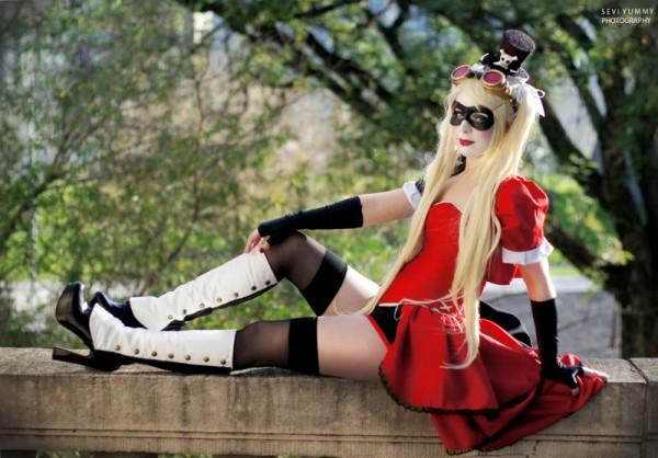 Steampunk Harley Quinn