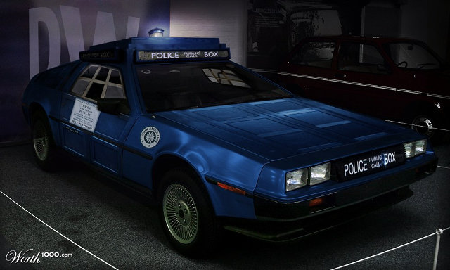 Doctor Who TARDIS DeLorean