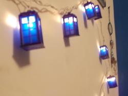 TARDIS Christmas Lights