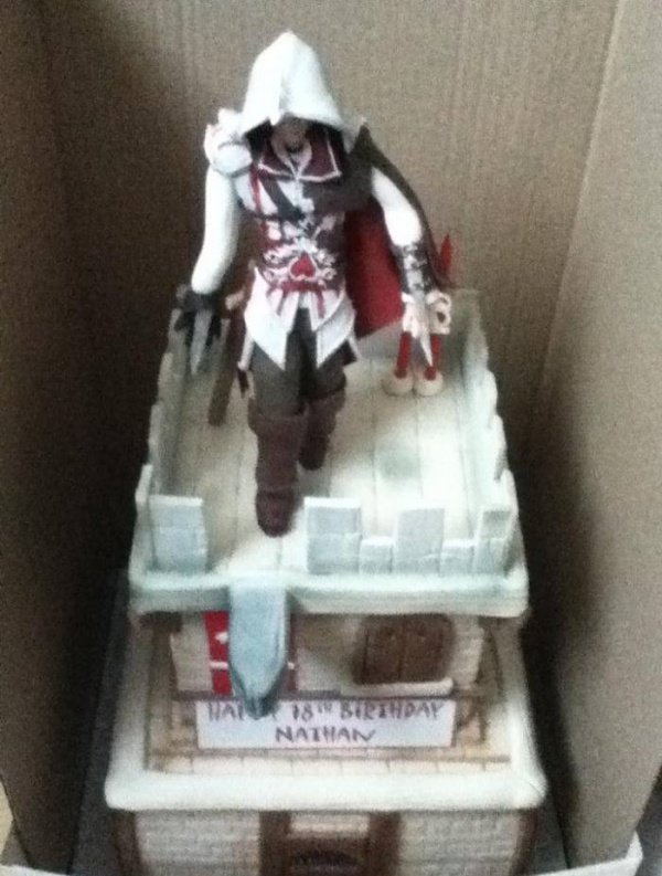 Assassin's Creed Ezio Birthday Cake