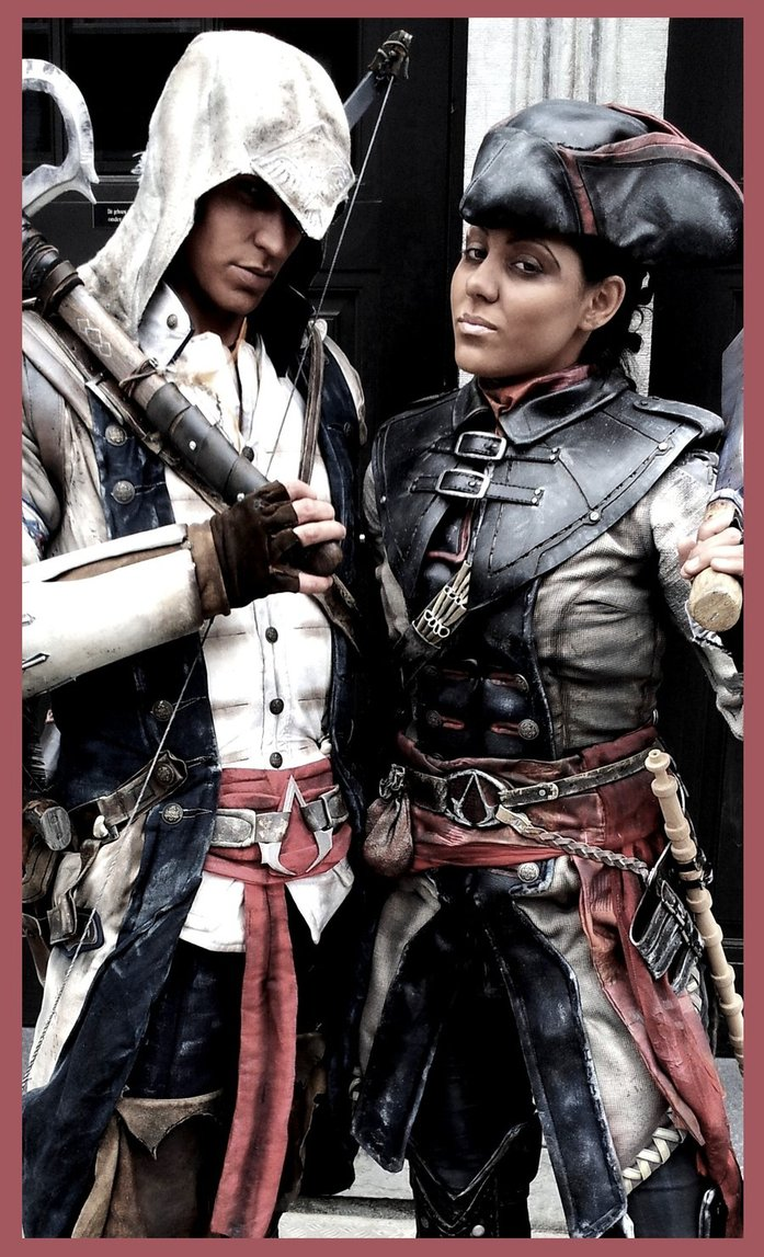 Stunning Connor And Aveline Assassin S Creed Iii Cosplay Pic
