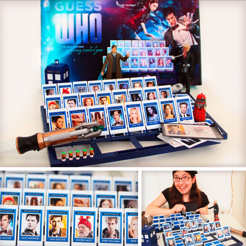 Guess Who Doctor Who Editions