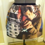 One of a Kind Doctor Who 11th Doctor Skirt [pic]