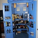 TARDIS Liquor Cabinet