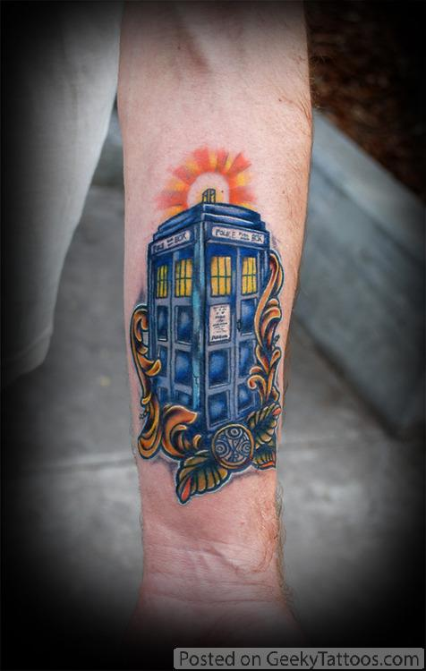 TARDIS Tattoo