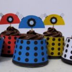 Doctor Who TARDIS and Dalek Cupcakes [pic]
