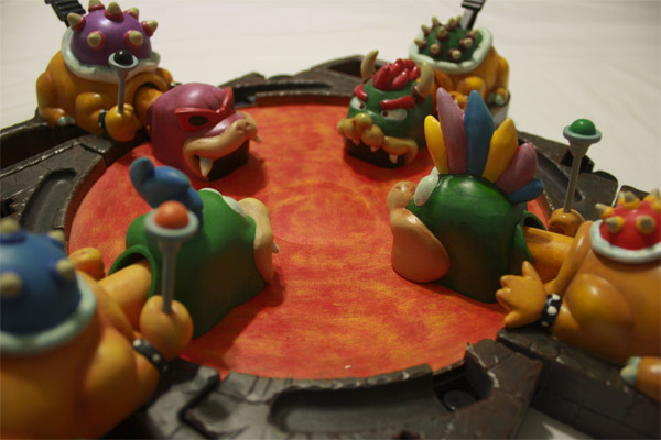 Super Mario Bros Meets Hungry Hungry Hippos
