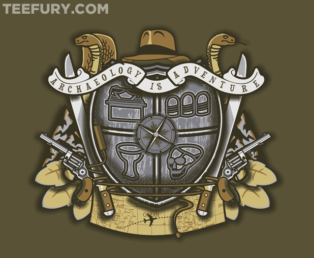 Indiana Jones Crest T-Shirt