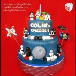 Amazing LEGO Star Wars Birthday Cake [pic]