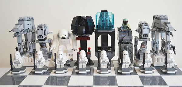 LEGO Star Wars Hoth Battle Chess Set Empire