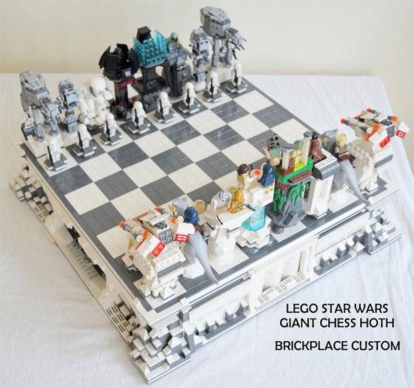 Star Wars LEGO Hoth Battle Chess Set