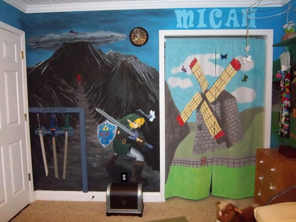 The ultimate legend of zelda kid s room pics global for Decoration zelda