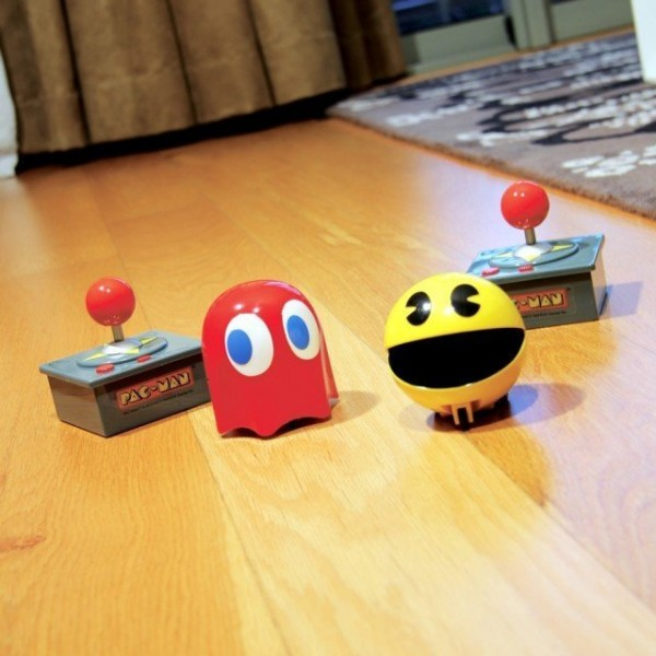 Pac-Man and Ghost Remote-Controlled Racers