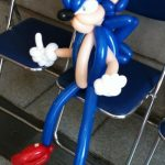 Sonic the Hedgehog Balloon Animal [pic]