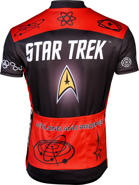 Star Trek Biking Jersey Back