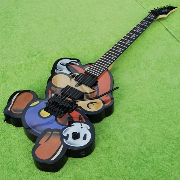 Paper Mario Electric Guitar