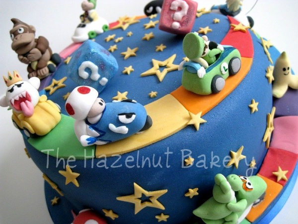 Mario Wedding Cake Mario Kart Tier