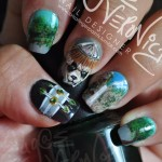 World Of Warcraft Mists Of Pandaria Fingernail Art [pic]