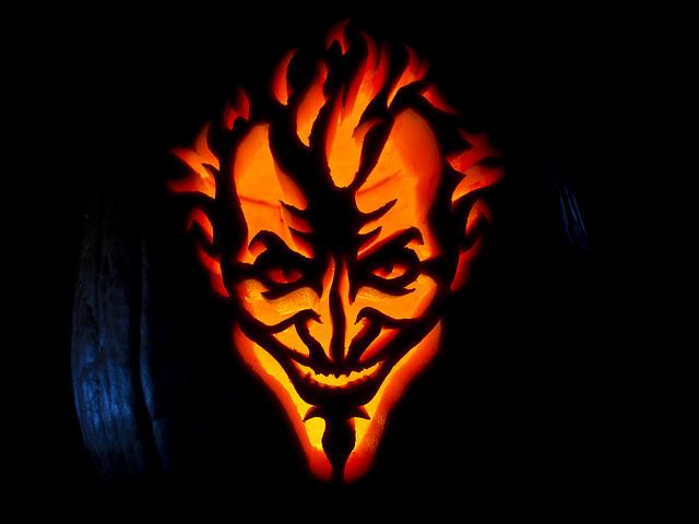 Batman: Arkham Asylum Joker Jack-O-Lantern