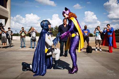 Batman Proposes to Batgirl