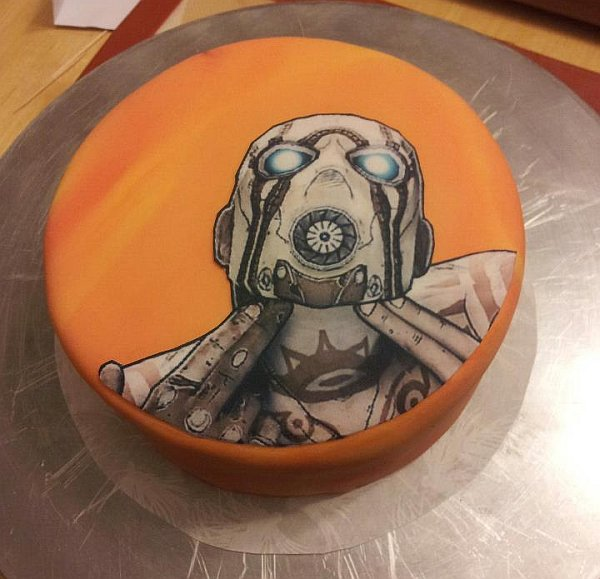 Borderlands Psycho Cake by Bridgetown Cakes