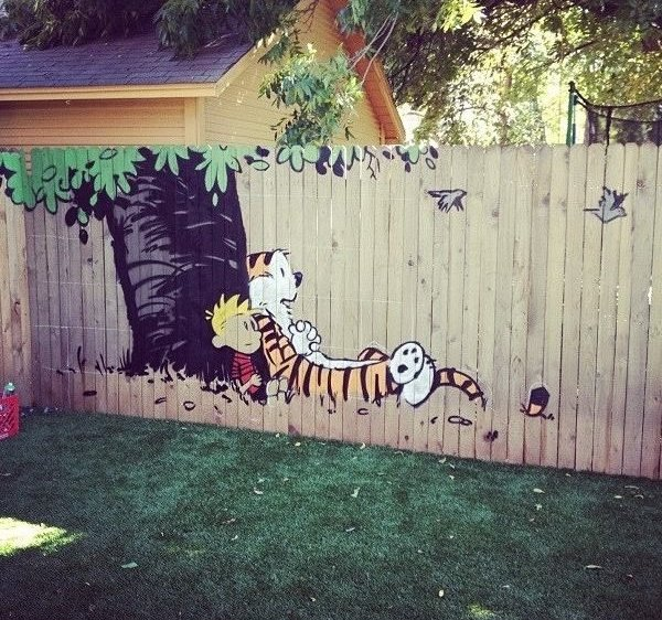 Calvin and Hobbes Fence