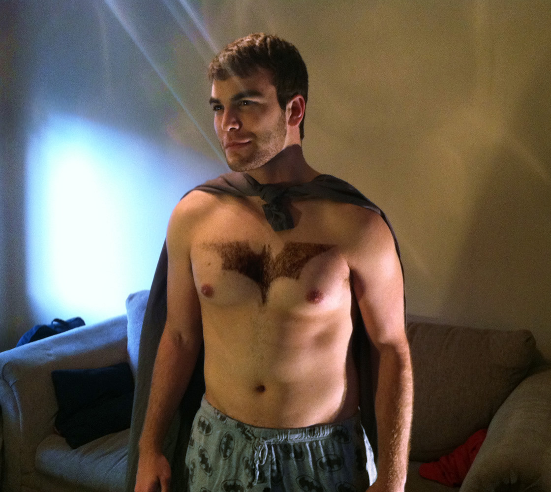 Batman Chest Hair