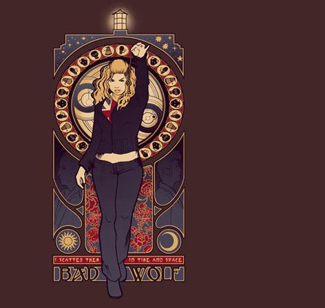 Amazing Doctor Who 'I Am the Bad Wolf' Tee $11 Today Only ...