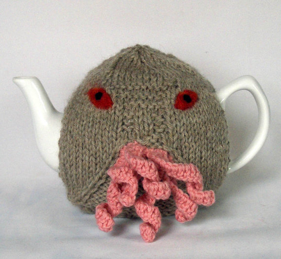 Doctor Who Ood Tea Pot Cosy