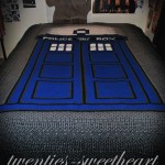 TARDIS Afghan