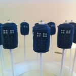 Doctor Who TARDIS Cake Pops [pic]