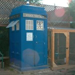 Doctor Who TARDIS Chicken Coop