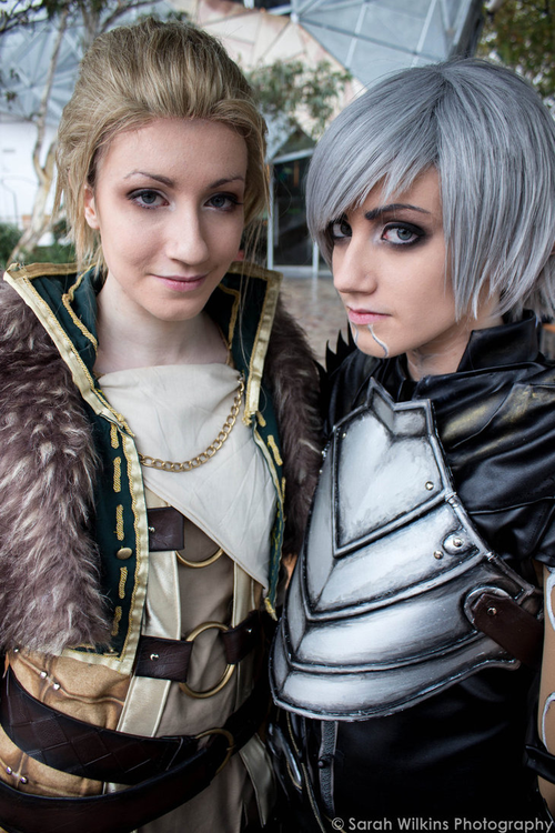 Anders and Fenris Dragon Age 2 Cosplay