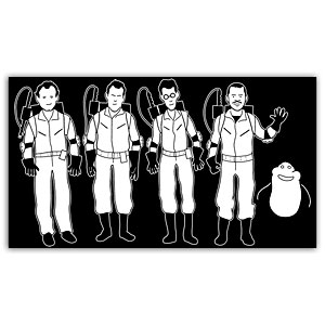 Ghostbusters Car Window Decal