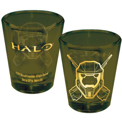 Halo Spartan Helmet Shot Glass. [Source: Amazon via Geek Alerts]