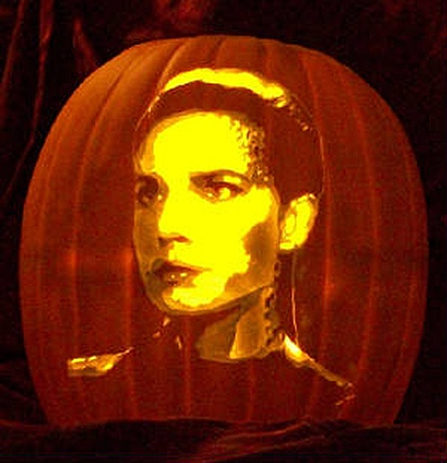 Jadzia Dax DS9 Pumpkin Carving