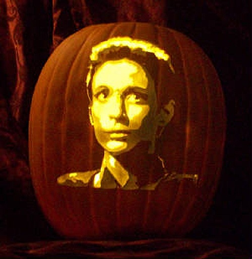 Kira Nerys DS9 Pumpkin Carving