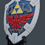 This Legend of Zelda Hylian Shield Made with LEGO is Mind Blowing! [pic]