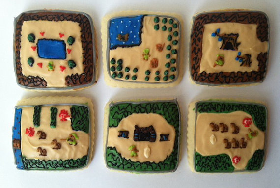 Legend of Zelda Sugar Cookies