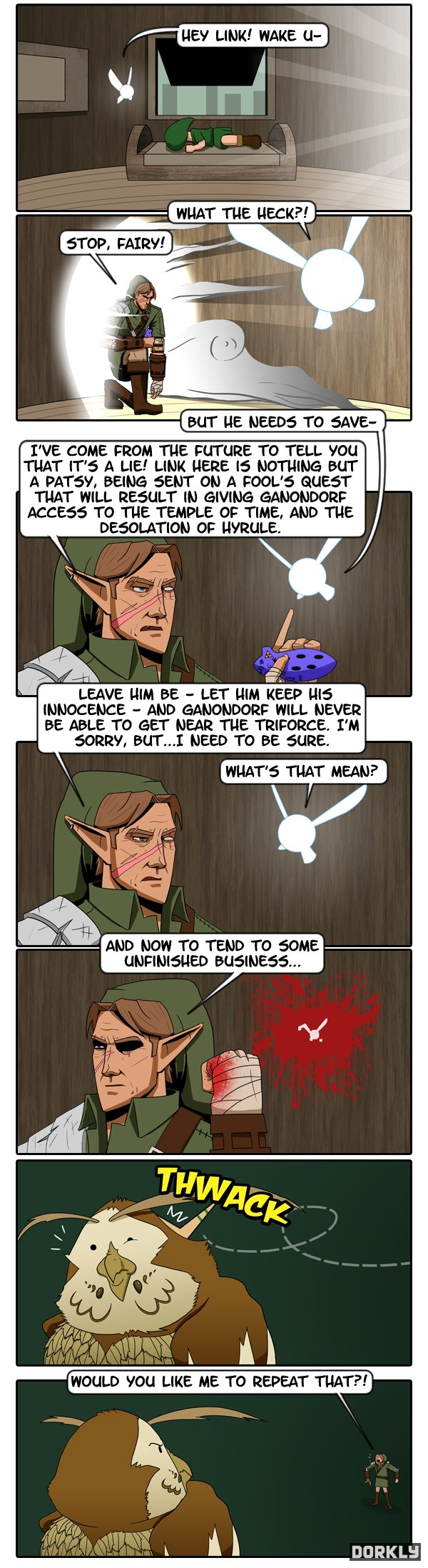 Legend of Zelda Comic